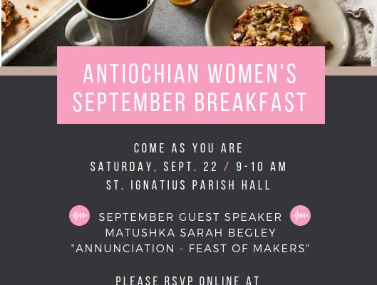 Antiochian Women – St Ignatius Orthodox Church Franklin